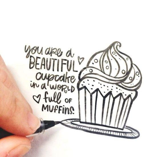 be a cupcake