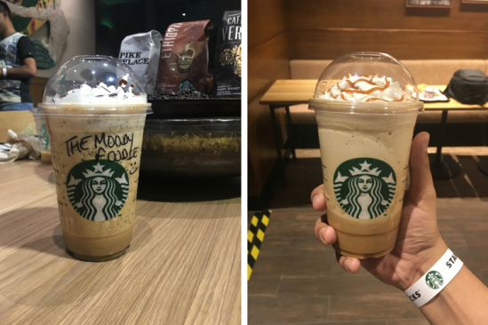 Starbucks Park Street Kolkata